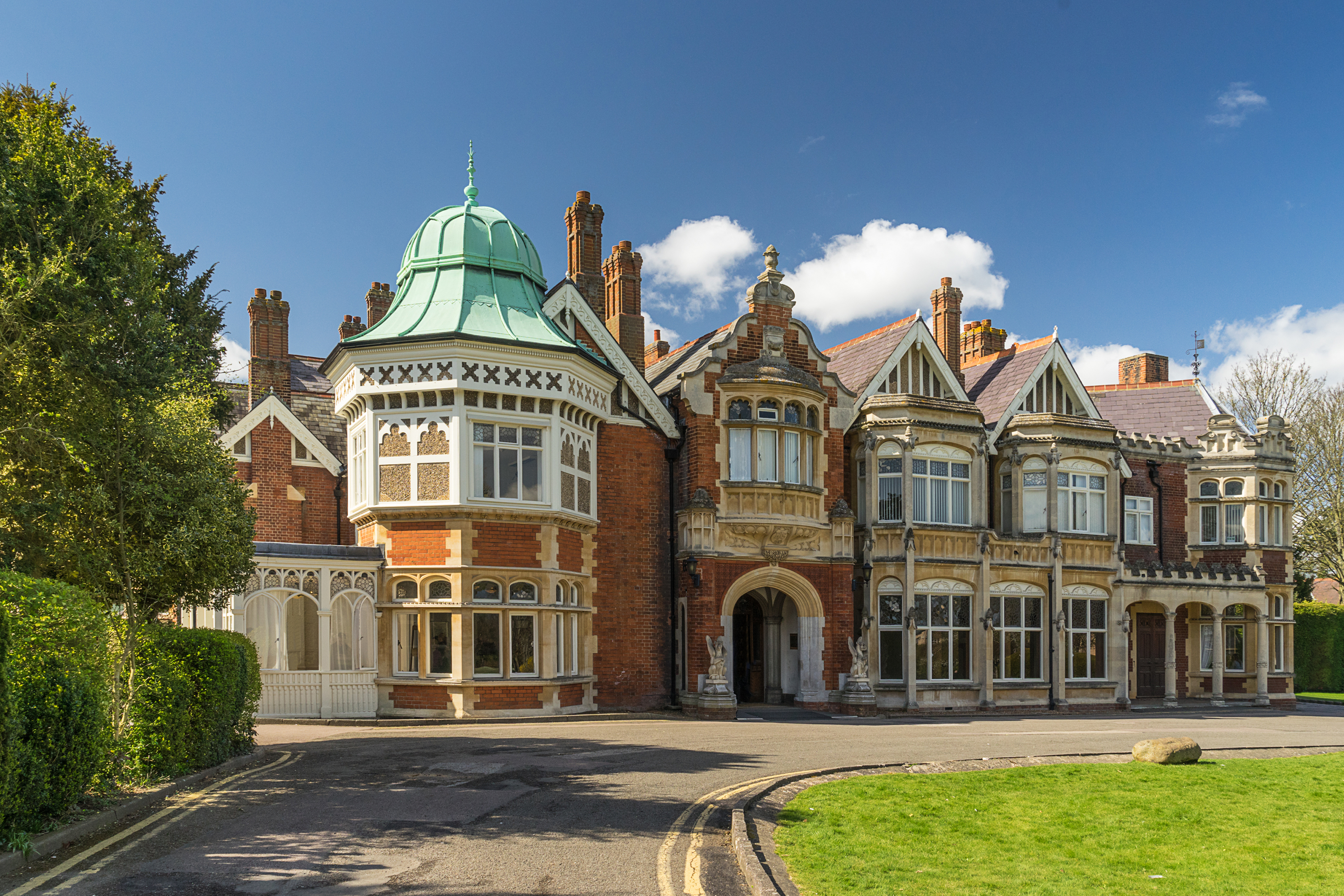Bletchley Park in Buckinghamshire