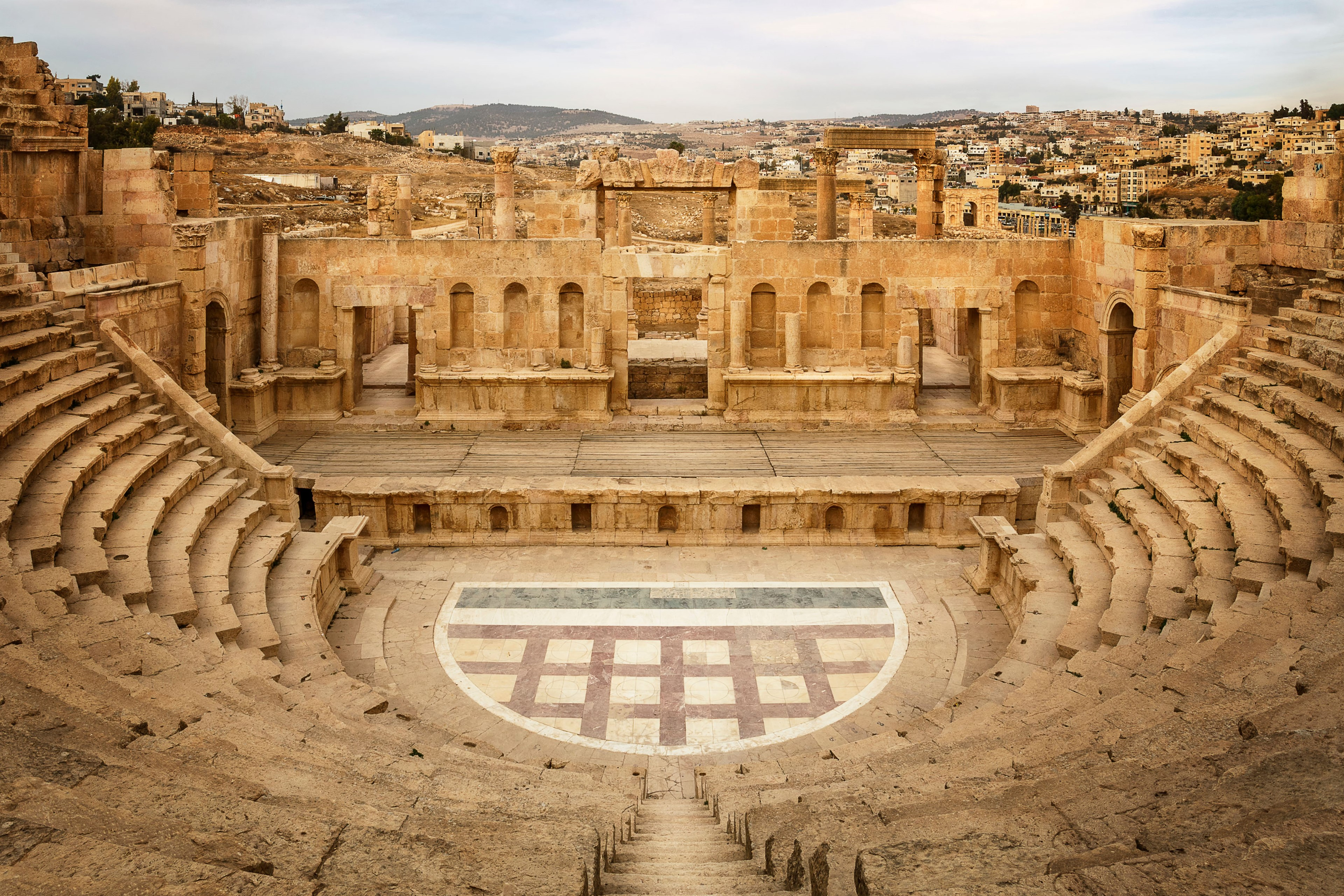 North theatre in Jerash