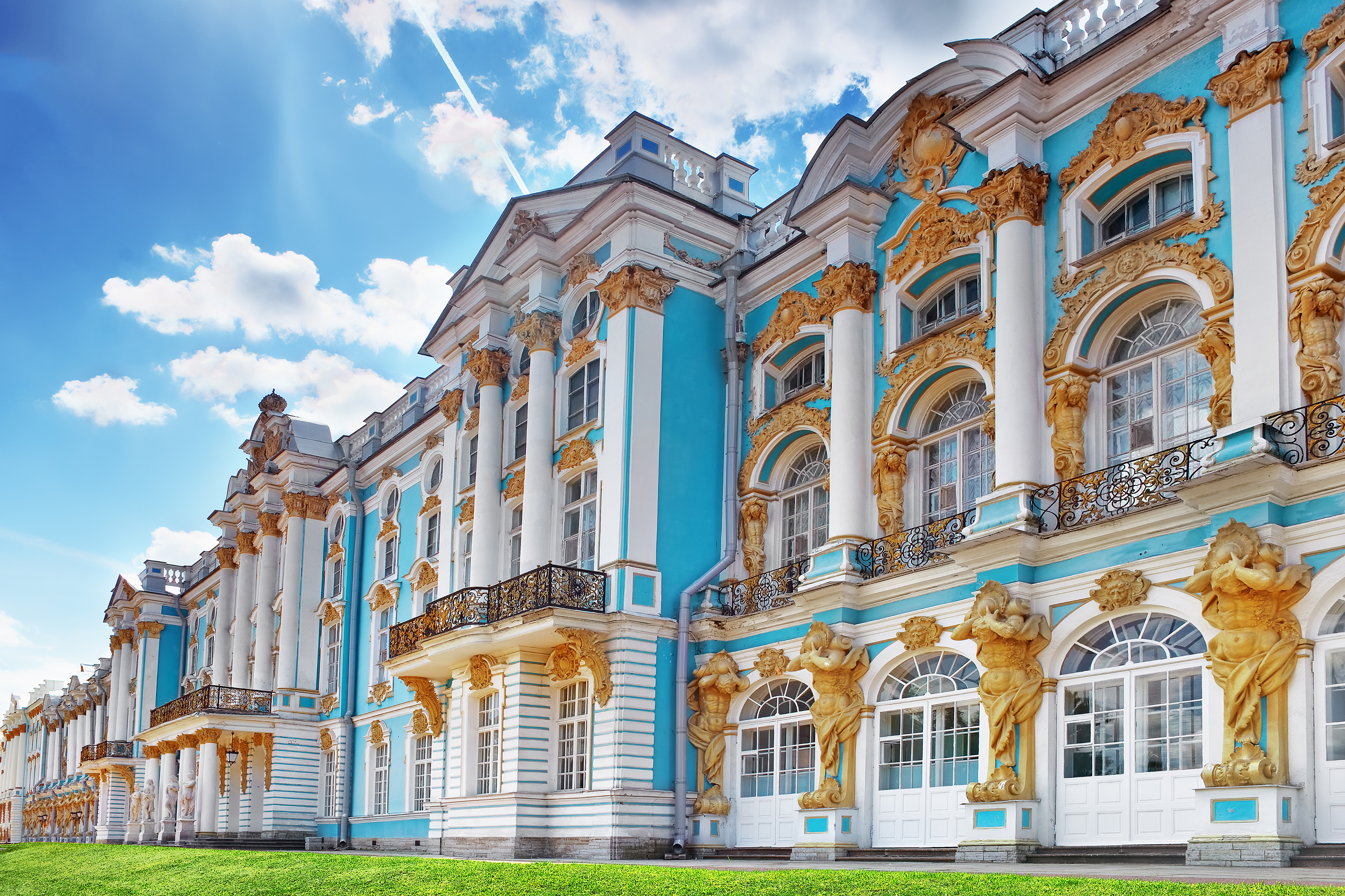 Katherines Palace hall, Russia