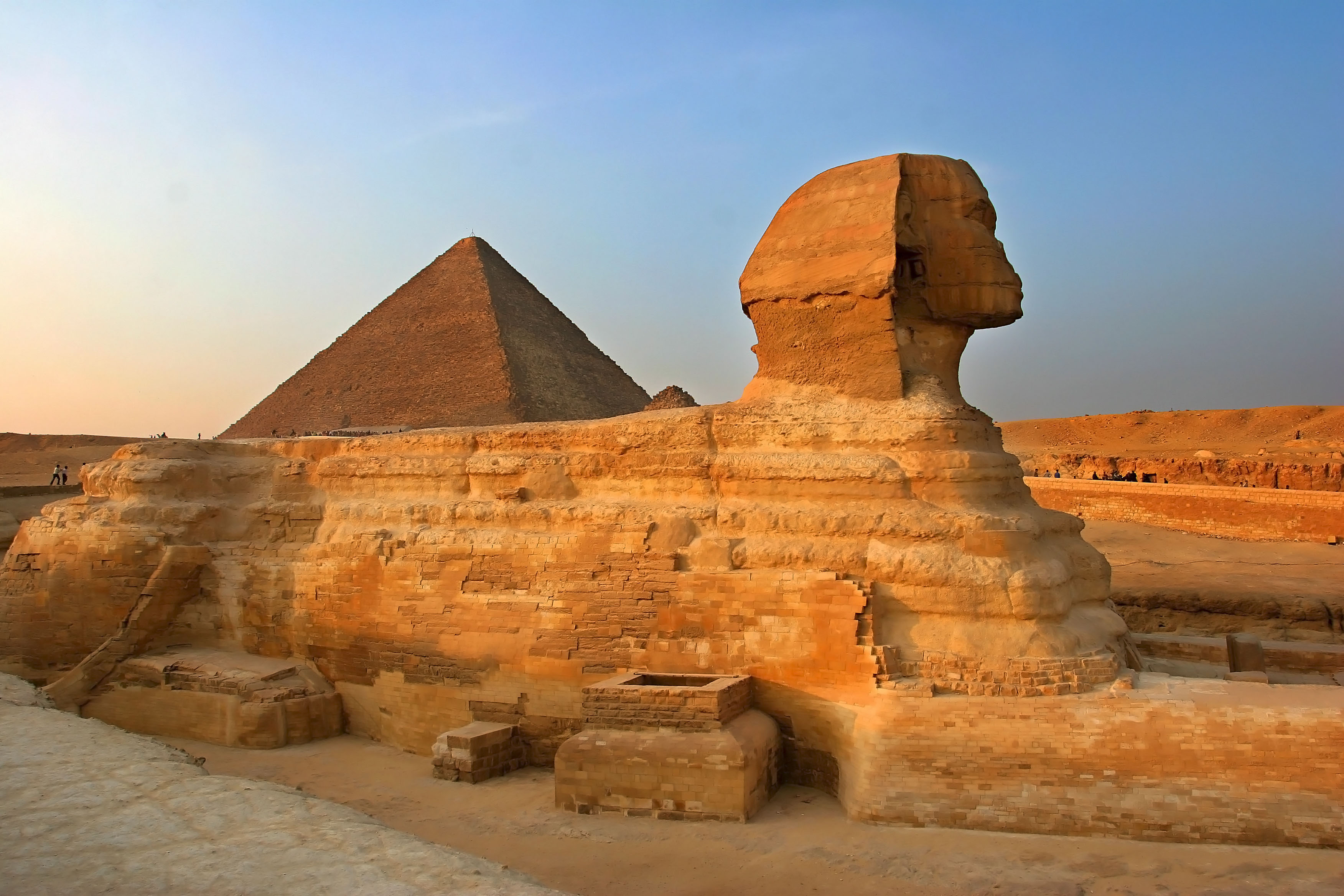 Pyramid of Khufu & the Great Sphinx